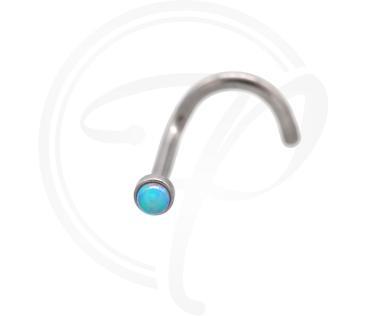 Nostril Synthetischer-Opal